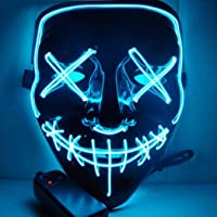 Halloween Scary LED Máscara De Disfraces Para Fiesta Del Festival