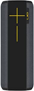 Ultimate Ears Megaboom Bluetooth Speaker, Wireless, Deep Bass, Portable, Wireless, 20 Hour Battery, Shockproof, 100 ft Range, Outdoor, Aux-in, Panther Limited Edition