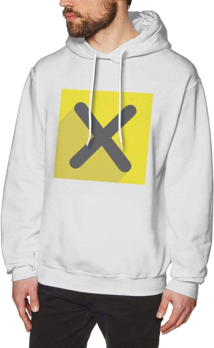 SKFUKS Mens Hoodie Sweatshirt Xpress-TV Sweater Black