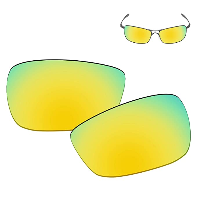 36f2a876dc5 Galvanic Replacement Lenses for Oakley Crosshair 2.0 Sunglasses - 24k  Polarized