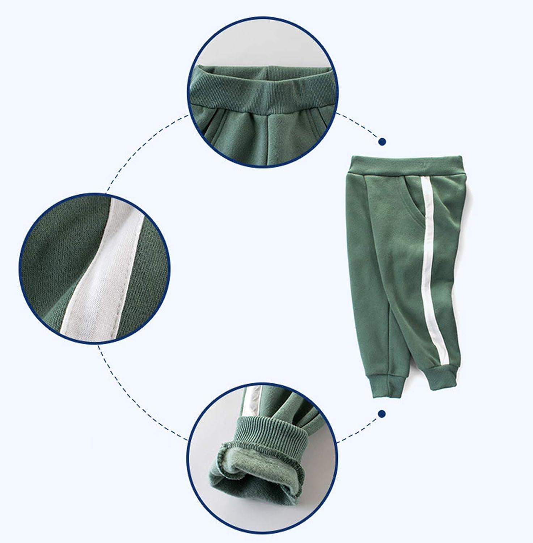 ALLAIBB Baby Boys Thin Fleece Liner Loose Pants Jogger Fashion Spring Fall Bottom