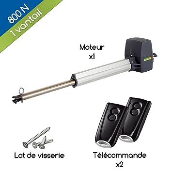 Pack Motorisation Pour Portail Battant Limusone D80 1 800 N Pour 1