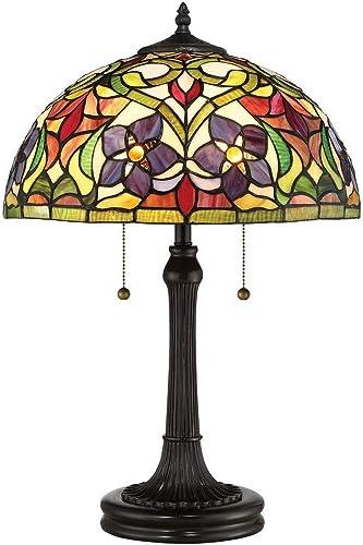 Quoizel TFVT6323VB Violets Table Lamp Lighting