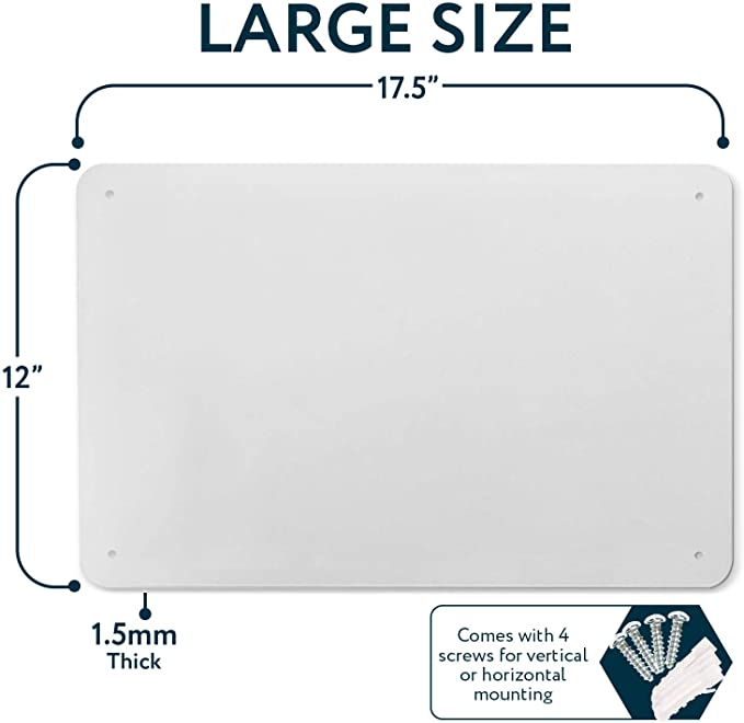 Magnetic Poetry Great Magnetic Bulletin Board Made in the USA Sueeing 17.5 x 12 Magnetic Board