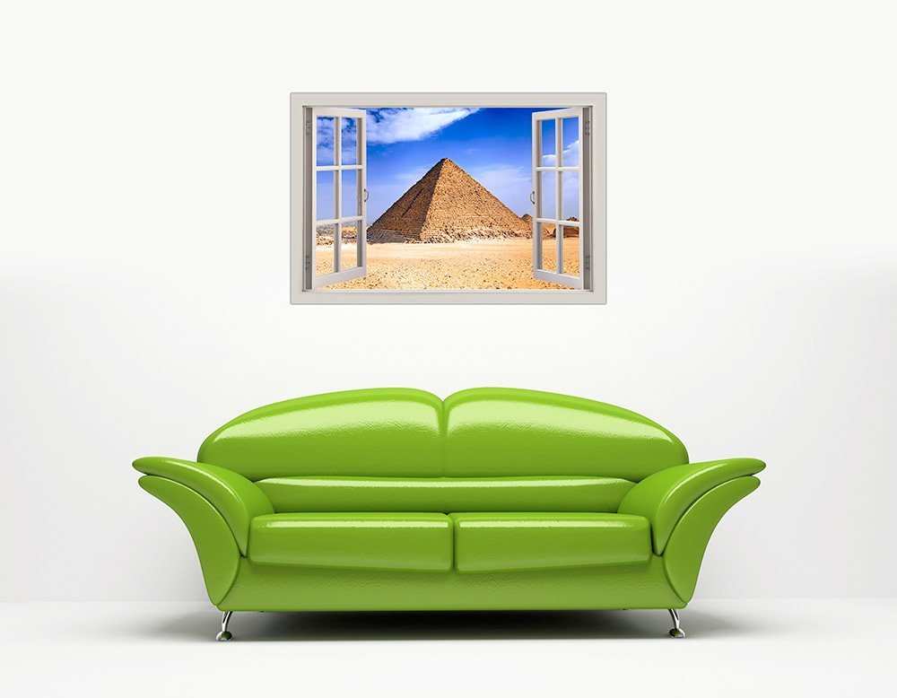Pyramid 2 Egypt Architecture Print poster canvas A0 A4