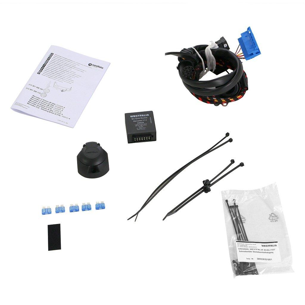 Westfalia 313211900113 - Enganche de remolque desmontable y set de cables específicos para vehículos: Amazon.es: Coche y moto