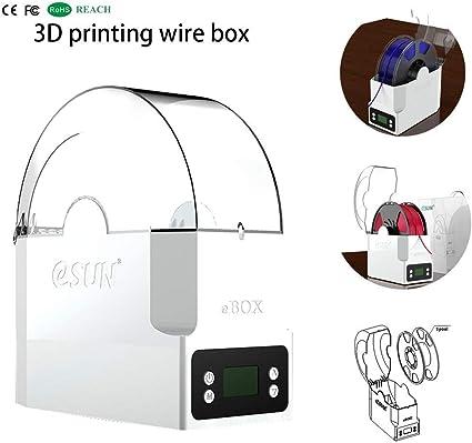 Iusun - Caja de almacenamiento de alambre con impresión 3D, eSUN ...