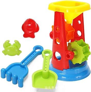 pinshun Juego para niños Juguetes de Playa Cubo de Playa Juguetes para niños Juegos de Verano