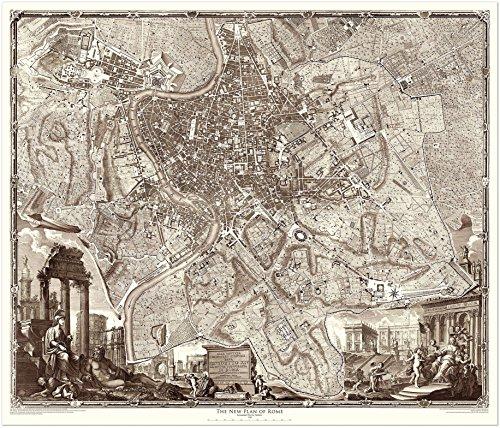 Copper Plate Map (1748 Nolli Map of Rome (45