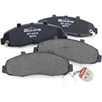 OCPTY Ceramic Brakes Pads Quick Stop Front Rear Brake Pad fit for 2010 2011 2012 Land Rover LR4