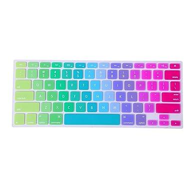 MacBook teclado cCubierta, de teclado, TTrees silicona, Skin para teclado, de goma, varios colores, para teclado ...