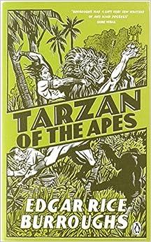 Tarzan of the apes book