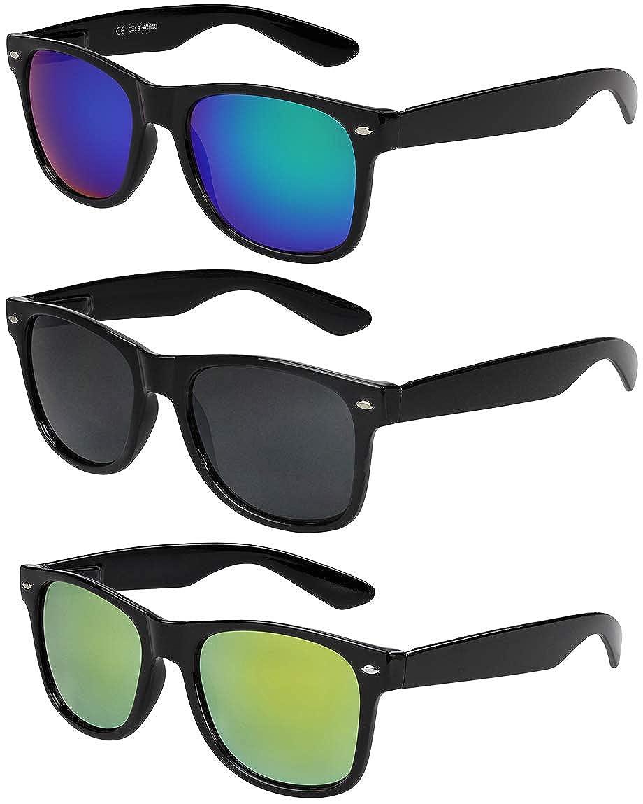 disponibili 45 diversi colori//modelli X-CRUZE/® Occhiali da sole da nerd Style Stile Retr/ò Vintage Donna Uomo Signore Signora Unisex