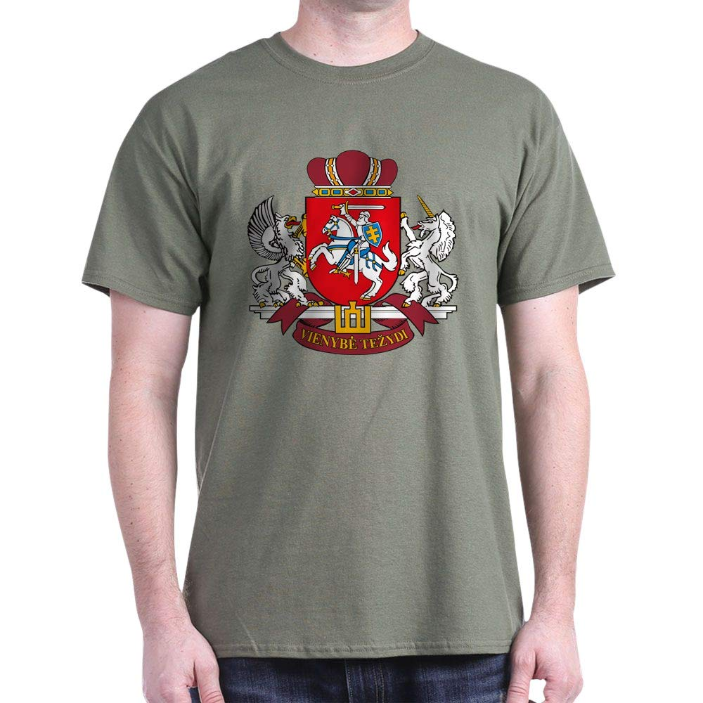 CafePress Lithuania Coat of Classic 100% Cotton T-Shirt