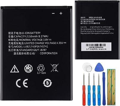 E-yiiviil Li3821T43P3h745741 - Batería de repuesto compatible con ...
