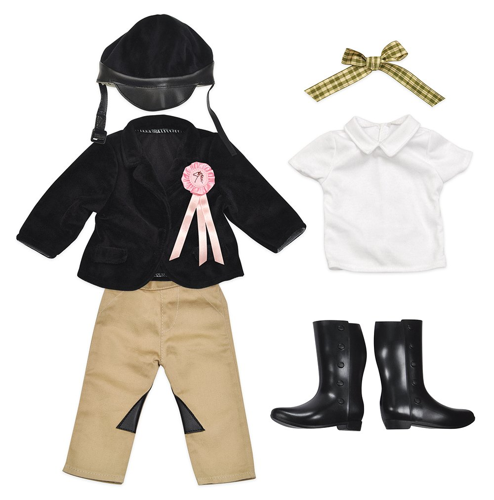 Kindred Hearts Dolls 18 Equestrian Outfit (Amazon Exclusive) Lotus Onda 01039