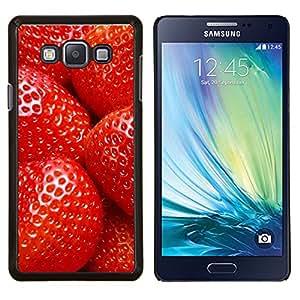King Case - FOR Samsung Galaxy A7 - Strawberry - Caja protectora de pl??stico duro Dise?¡Àado