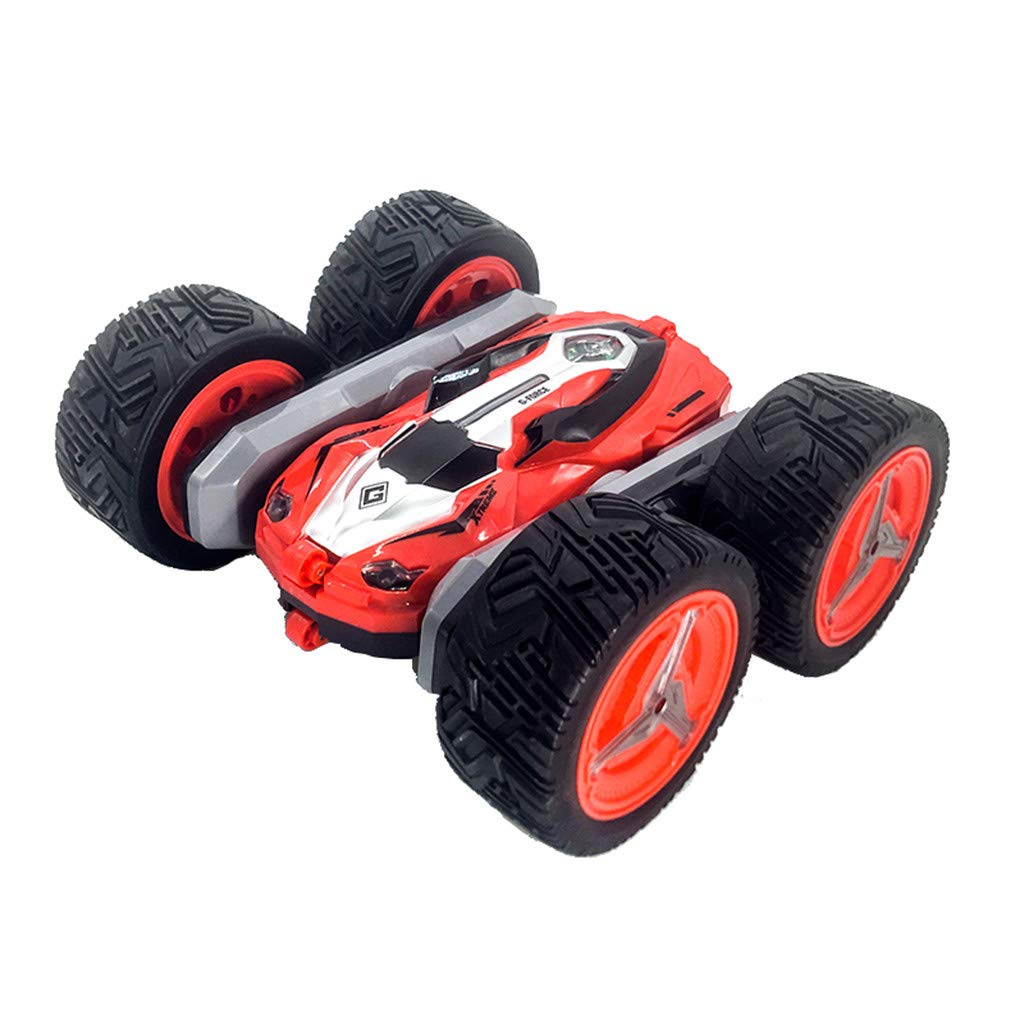 1/28 RC Stunt Car Rock Crawler Double Sided 360° Rotating Off Road High Speed Truck 2.4GHz 4WD Remote Control Monster Truck Buggy RC Car Gift for Boys, Girls & Adults