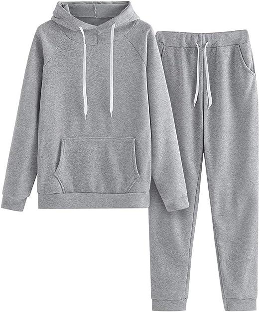 UK Women Summer Tracksuit Casual Sweatshirt Pants Set Loungewear Sport Wear Suit