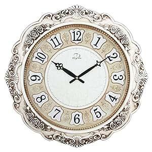 22 Inch Super Large Size Living Room Decorative Wall Clocks Retro Vintage Non