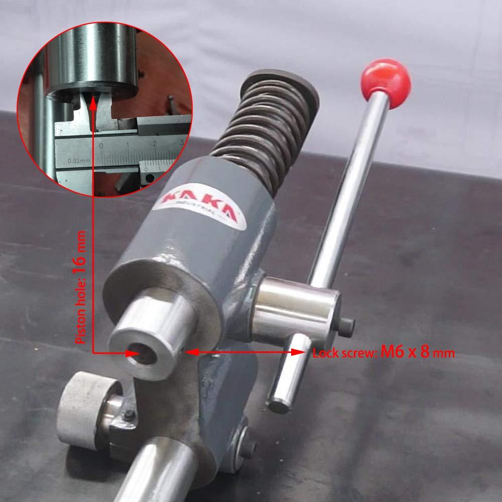 KAKA Industrial AP-1S Arbor Press, Solid Construction, 1 Ton Adjust Press Height Jewelry Tools