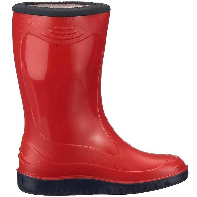 Romika Little Bunny, Botas de Agua Niños Unisex, Rojo (Rot-Kombi 401), EU: Amazon.es: Zapatos y complementos