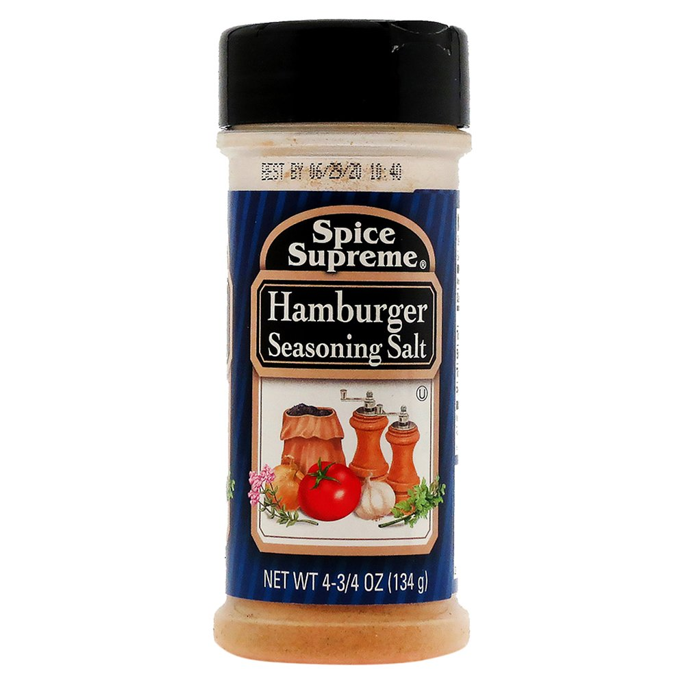 SPICE SUPREME Hamburger Seasoning 4.75oz (134g)