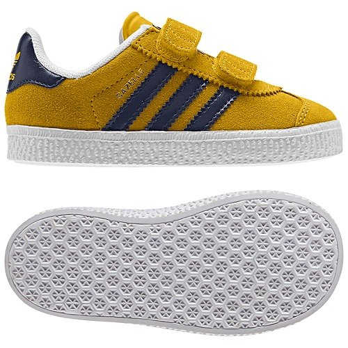 Adidas Gazelle 2 CF I Toddler in Ray Yellow Legendink White 0b28deb69