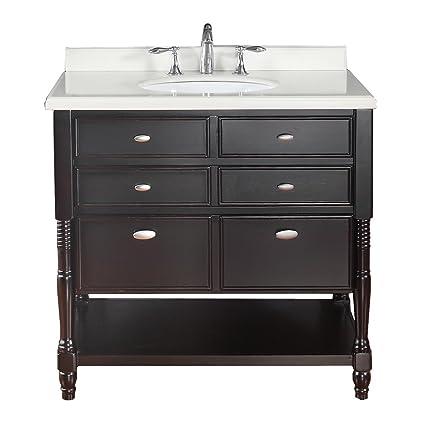 Superieur Ove Decors Elizabeth 36 Decors Bathroom Vanity, 36 Inch, Espresso