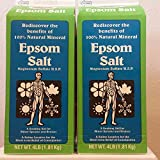 Horse Epsom Salt Equine Label (2 Pack)