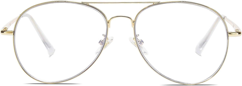 SOJOS Gafas de Sol de Metal Clásico Marco del Espejo Lente Con las Bisagras del Resorte SJ1030