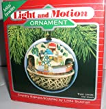 HALLMARK KEEPSAKE LIGHT AND MOTION ''COUNTRY EXPRESS'' SCULPTED BY LINDA SICKMAN