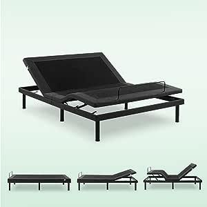Amazon Com Zinus Deluxe Adjustable Bed Frame Adjustable