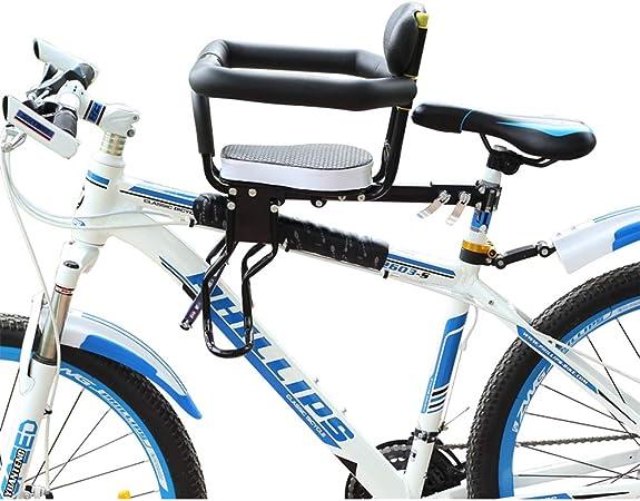 Asiento de bicicleta para niños,, Montura delantera desmontable ...