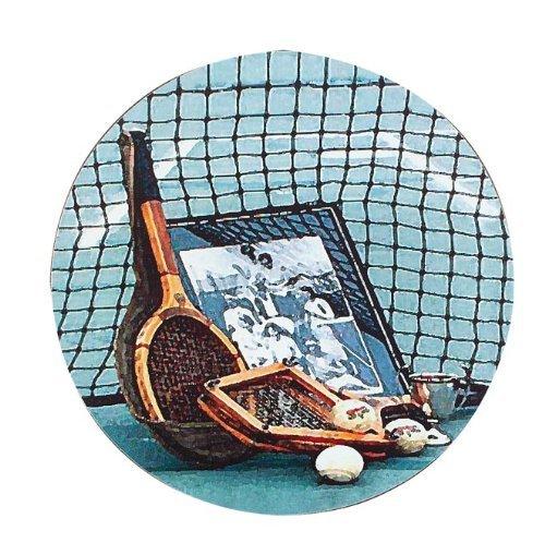 Vintage Tennis Coasters - Set of 4