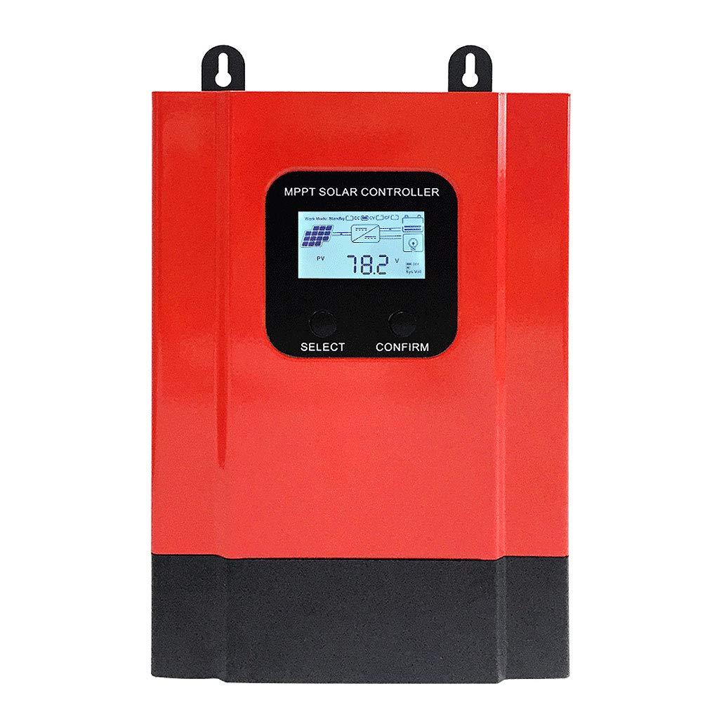 DS- ソーラーコントローラー ソーラーコントローラMPPT RS 485通信インタフェース太陽光発電パネル発電フル充電12 v 24 v 48 v && (サイズ さいず : 20A) B07PPY6FBV 60A  60A