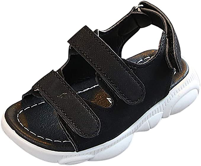 Lurryly Children Boys Girls Sandals Sneakers Closed Toe Summer Beach Shoes 1-9 T