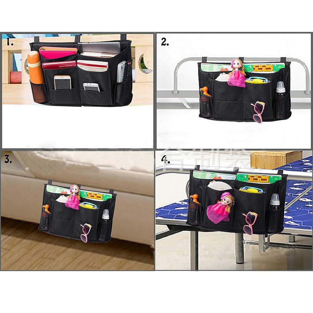 Versatile Underbed Bedside Storage Organizer Caddy Heavy Duty 8