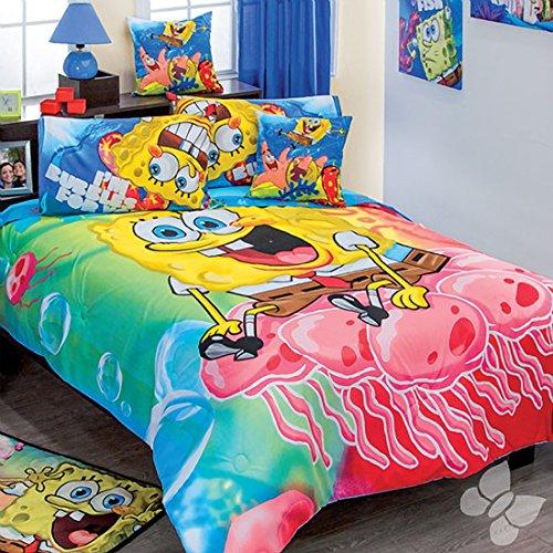 Comforter SpongeBob SquarePants Bubble 5 Piece Twin