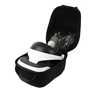 Hard Travel Case for Sony Playstation VR PSVR Virtual Reality Headset by co2CREA