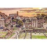 "The Roman Forum, Rome, Italy - Poster / Print (Forum Romanum - Assaf Frank) (Size: 36"" x 24"")"