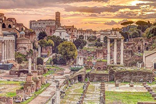 Assaf Frank - The Roman Forum, Rome, Italy - Poster / Print (Forum Romanum - Assaf Frank) (Size: 36