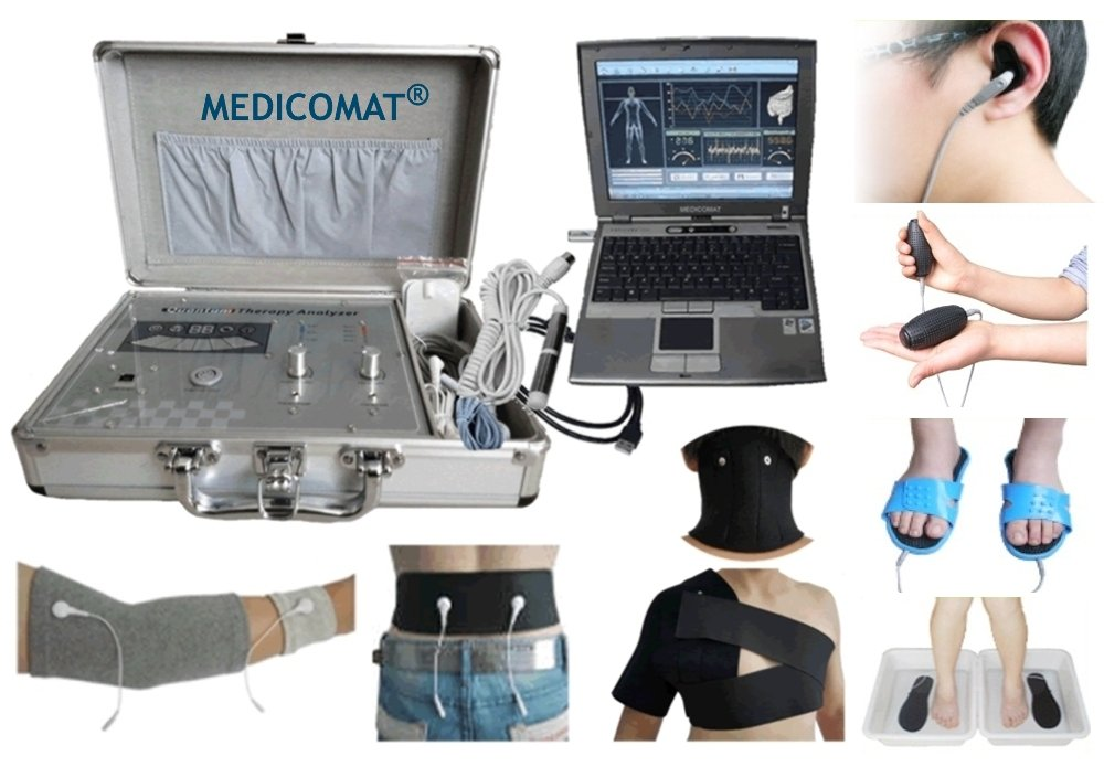 Shoulder Pain Treatment Medicomat-291R Shoulder Neck Back Elbow Sleeve Pain Relief Health Screening Computer