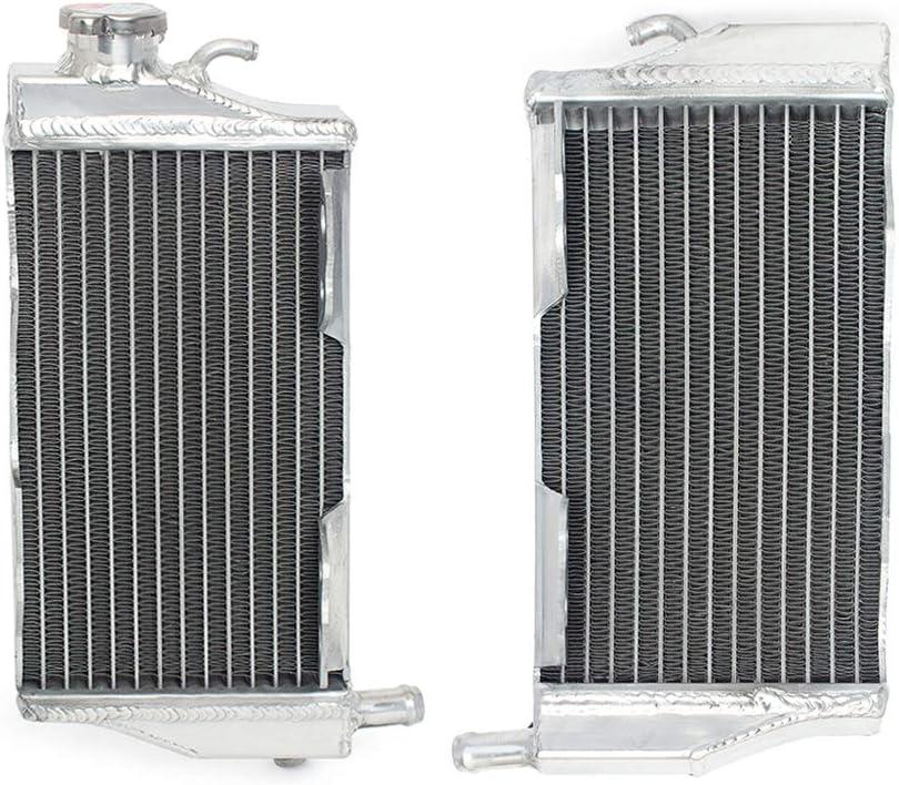 Smadmoto Motorcycle Radiator Water Cooler Cooling for Honda CR250 02-07
