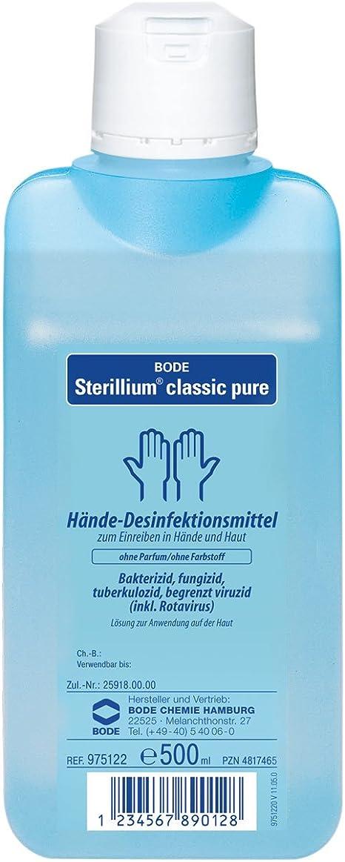 Paul Hartmann Ag Sterillium Classic Pure 500ml Mit Integrierter