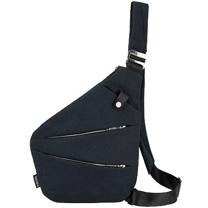 Men Women Chest Bag Pack Travel Sport Shoulder Sling Cross Body Outdoor Casual Messenger Bag Engagement & Wedding