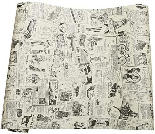 Papier journal de contact papier auto-adhesif vinyle etagère tiroir liner pour meubles Arts Artisanat decor à la maison 60 x 300 cm