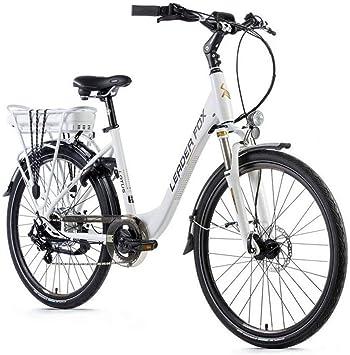 Leader Fox Bicicleta eléctrica VAE City 26