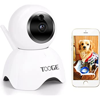 tooge pet camera dog camera fhd pet monitor indoor cat camera night vision 2 way audio and motion detection updated