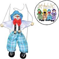 1unidades novedad creativo juguete 25cm pequeños títeres muñeca